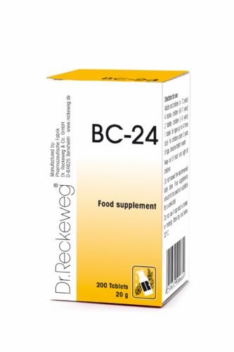 Schuessler BC24 combination cell salt - tissue salt